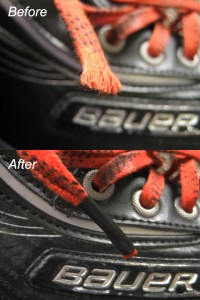hockey skate lace repair